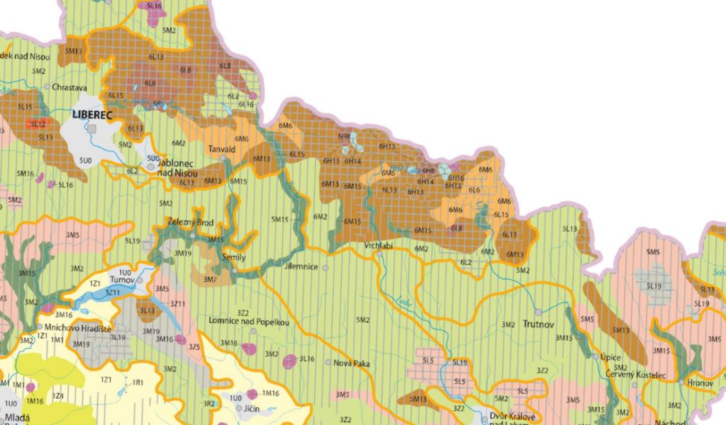 Zdjęcie: Atlas krajobrazowy Republiki Czeskiej