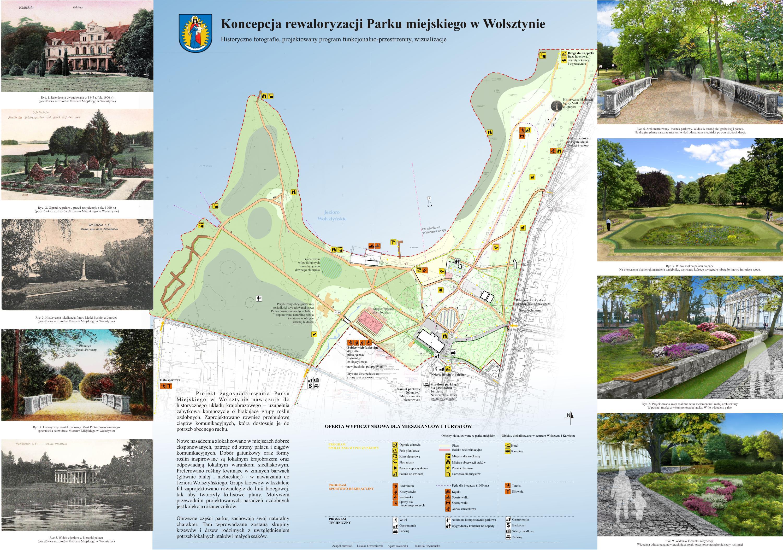 Koncepcja zagospodarowania Parku Miejskiego w Wolsztynie - Program F-P