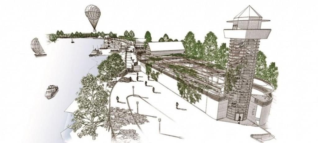 Zdjęcie: Koncepcja zagospodarowania nadodrzańskich terenów Starego Miasta w Głogowie
