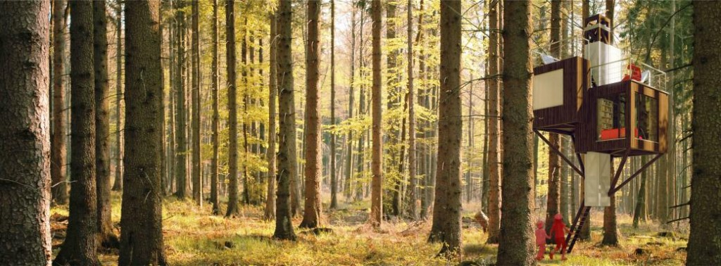 Zdjęcie: Dom na drzewie – koncepcja 2014