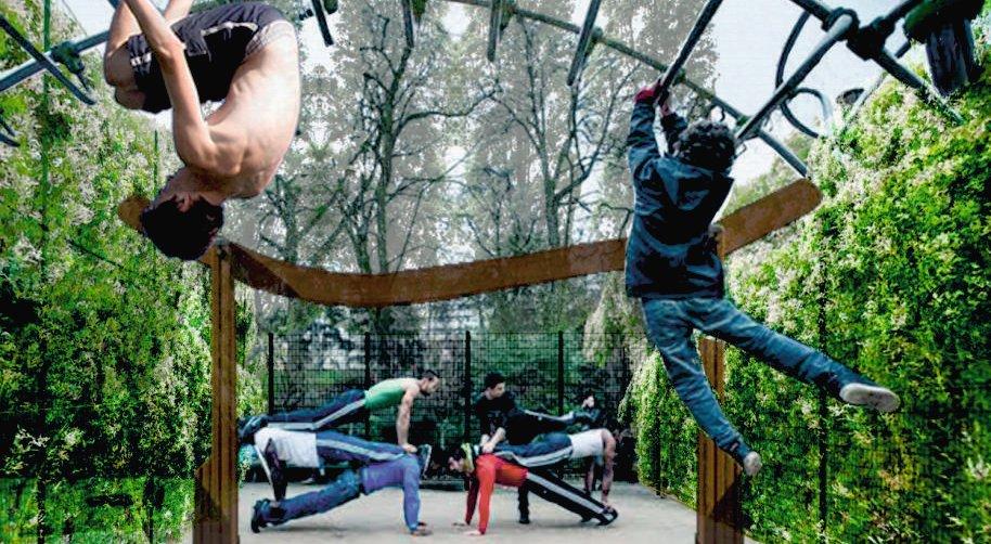 Park sportowo-rekreacyjny w Jaworznie – koncepcja parku z I. nagrodą w konkursie