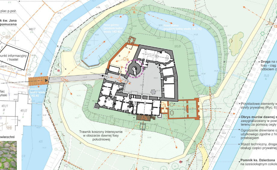Koncepcja rewaloryzacji parku i układu wodnego w obrębie  zespołu zamkowego w Karłowicach