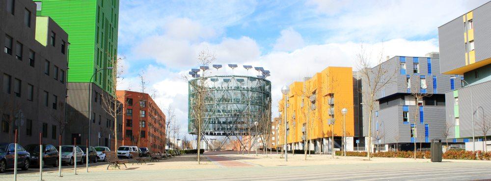 Klimatyzacja przestrzeni publicznej w Madrycie