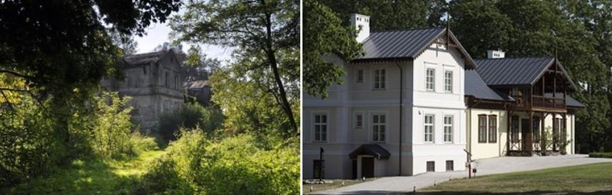 Zespół dworsko-parkowy w Kłóbce laureatem konkursu Zabytek Zadbany 2016!