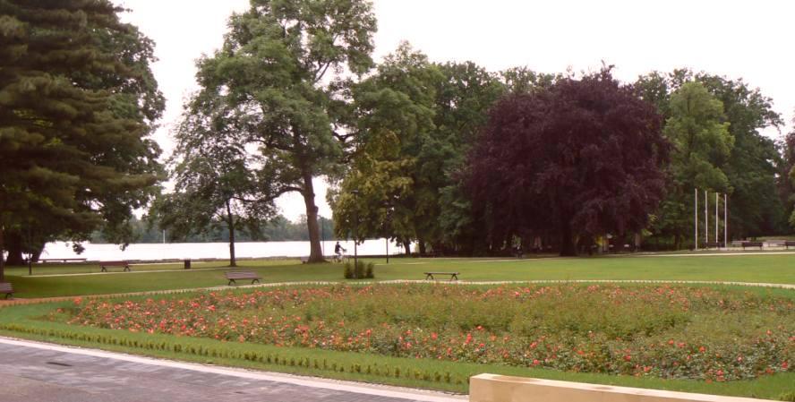 Park Miejski w Wolsztynie po realizacji