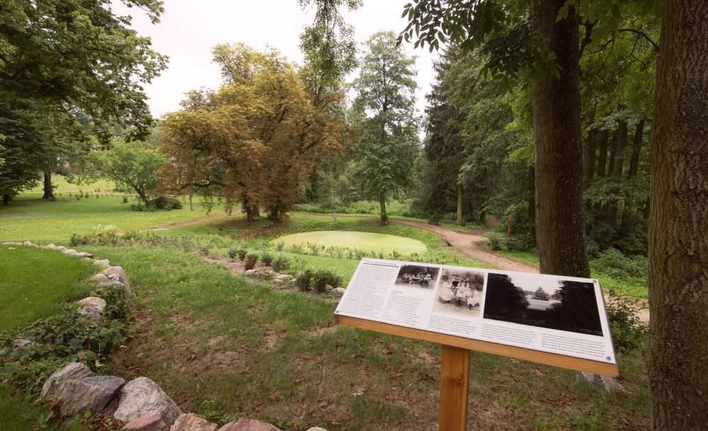 Ścieżka edukacyjna dla parku w Kłóbce