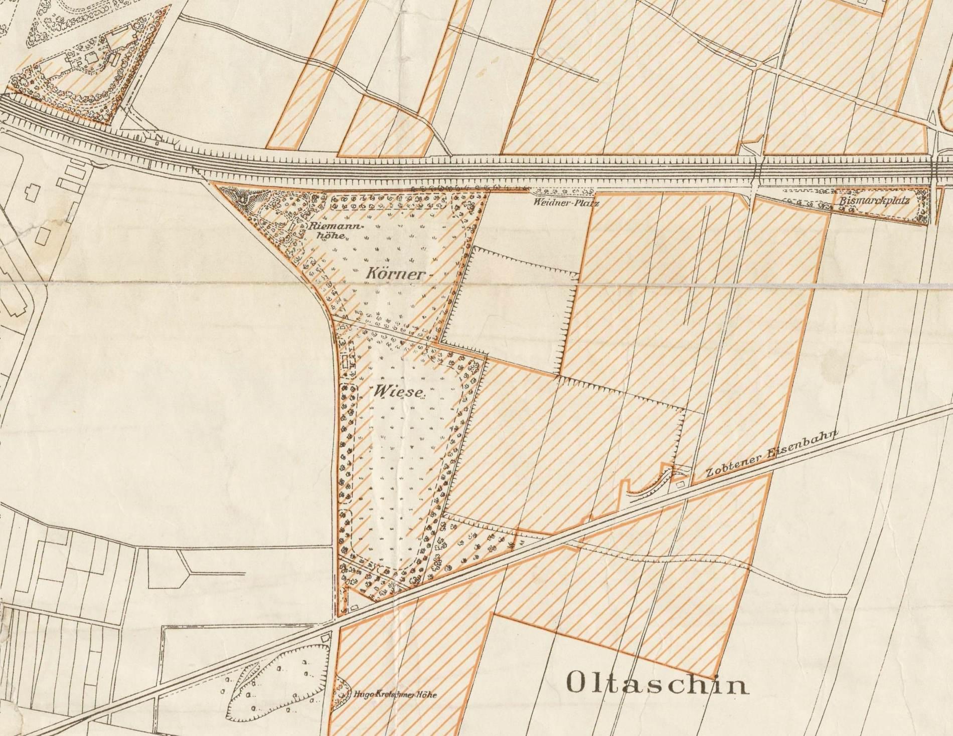 Plan sekcyjny Wrocławia
