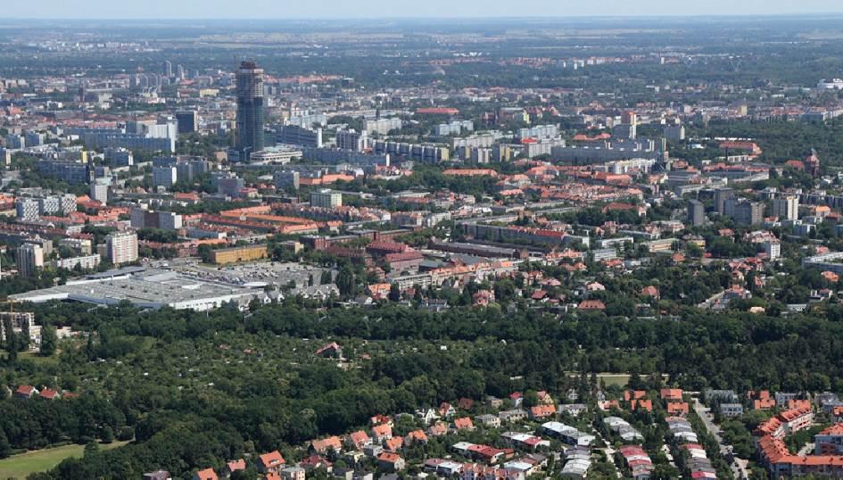 Promenada Krzycka – najdłuższy ciąg terenów zieleni we Wrocławiu