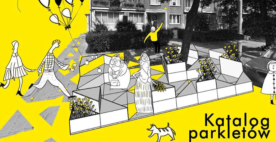 Parklety dla ulicy Daszyńskiego