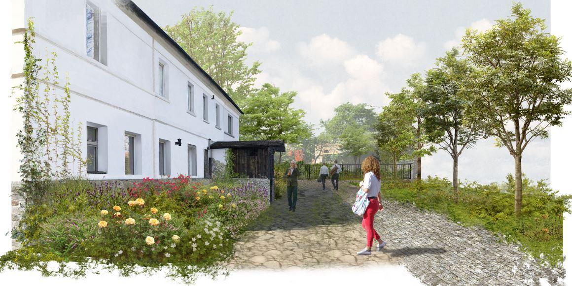 Projekt otoczenia zabytkowego budynku mieszkalnego w Jaworze